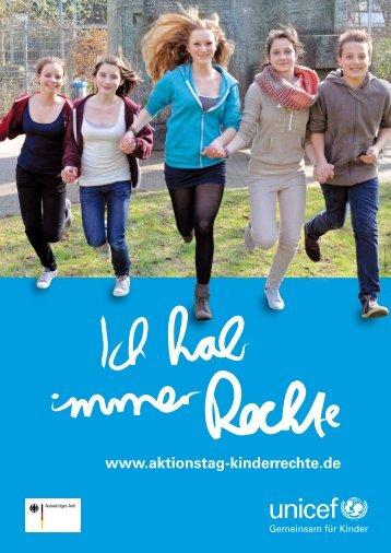 """Poster zum Aktionstag """"Ich hab immer Rechte"""" (PDF) - younicef.de"""
