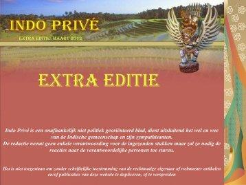 Extra edtitie maart 2012 - Indo Privé