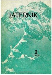 Taternik 2 1988 - Polski Związek Alpinizmu