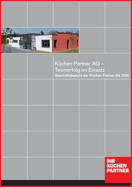 Küchen Partner AG – Teamerfolg im Einsatz