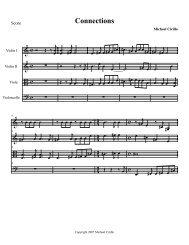 Connections - Mike Cirillo fiddler fiddle jazz violin violinist composer