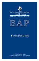 EAP Supervisor Guide - University of Connecticut Health Center