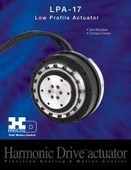 LPA-17 Powerhub™ - Harmonic Drive LLC