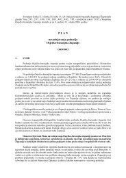 Plan navodnjavanja područja Osječko-baranjske županije