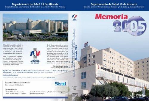 Memoria Agencia Valenciana De Salud