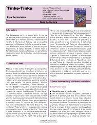 Guía Tinke-Tinke - Alfaguara Infantil