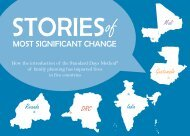 MOST SIgnIfIcanT changE - Institute for Reproductive Health