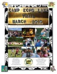 March 2010 - Camp Echo Lake
