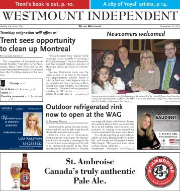 November 13 - Westmount Independent