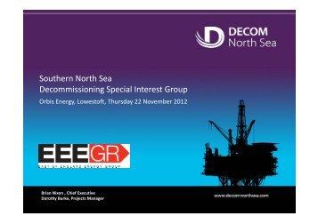 Decom North Sea - East of England Energy Group