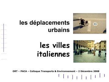 Les villes italiennes - ORT PACA