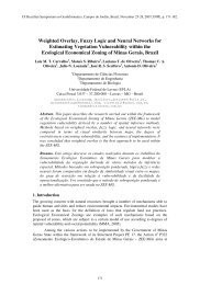 Weighted Overlay, Fuzzy Logic and Neural Networks for Estimating ...