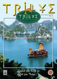 00Trilye sayi22 - Trilye Restaurant