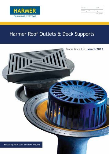 Harmer Roof Outlets & Deck Supports - NMBS
