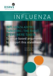 Influenza a(H1n1) pandemIc: tHe rIgHt steps were taken ... - eswi