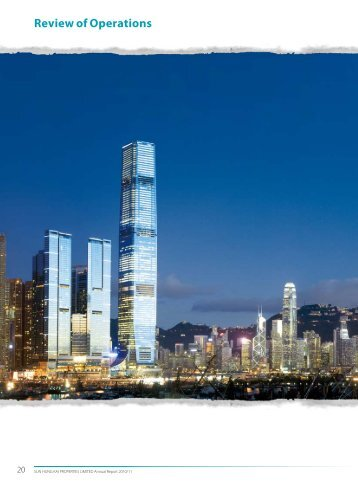 Review of Operations - Sun Hung Kai Properties Ltd.