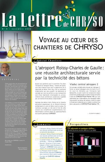 Spécial Chantiers - Chryso