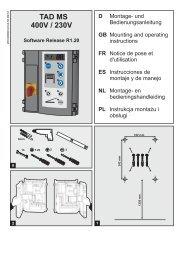 TAD MS 400V / 230V - tormatic