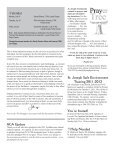 July 17, 2011 Bulletin - St. Joseph Parish - Page 2