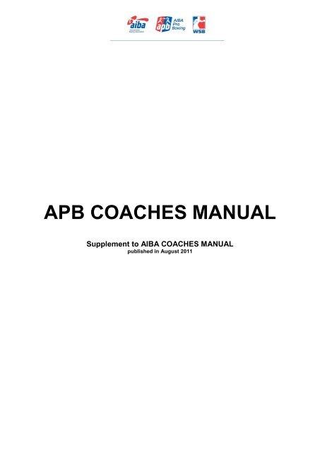 Array - aiba coaches manual  rh   aiba coaches manual futuri us