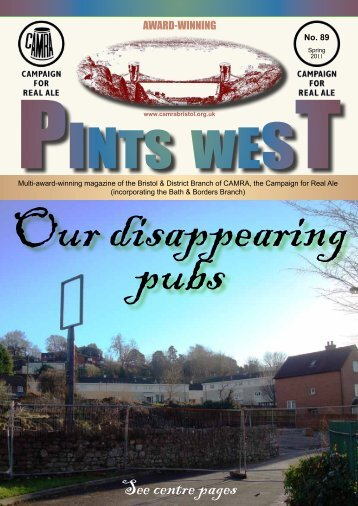 Our Disappearing Pubs - Bristol & District CAMRA