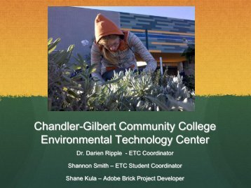 Environmental Technology Center - Chandler-Gilbert Community ...