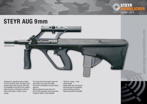 STEYR AUG 9mm - Steyr Mannlicher