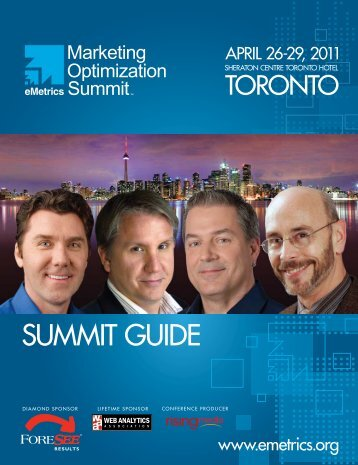 SUMMIT GUIDE - eMetrics Summit
