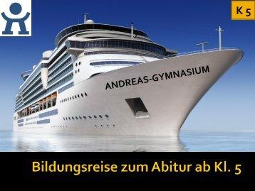 Bildung am Gymnasium - Andreas-Gymnasium