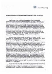 Pressetext Dr. Gisela Wild
