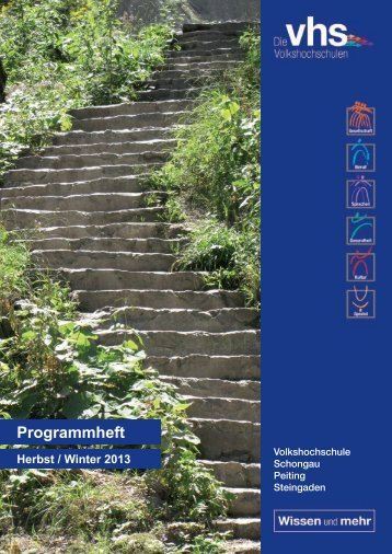 Programmheft Download - VHS Peiting