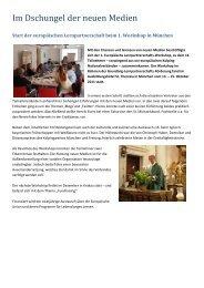 (Deutschland) – Kommunikation mit neuen Medien - Kolping Europa