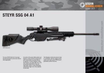 STEYR SSG 04 A1 - Steyr Mannlicher