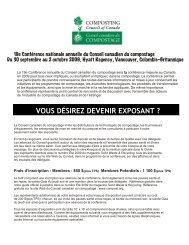 Formulaire pour Exposants 1.cdr - Compost Council of Canada