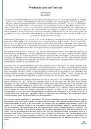 Vembanad Lake and Tourism-15 Mar 07-EQUATIONS - Equitable ...
