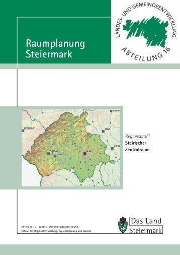 Steirischer Zentralraum - Raumplanung Steiermark