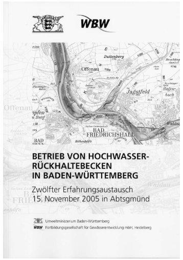 Berichtsband 2005 - WBW Fortbildungsgesellschaft