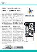 INDUSTRIA TESSILE INDIANA TexTile indusTry in india - Savio SPA - Page 6