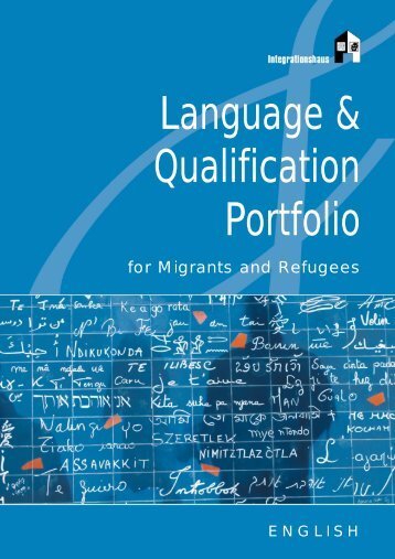 Language and Qualification Portfolio - Integrationshaus