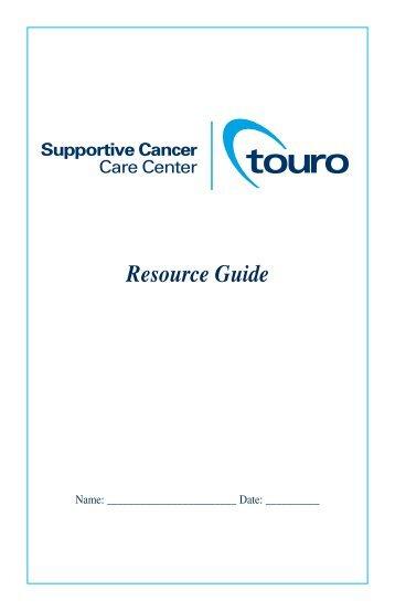 Resource Guide - Touro Infirmary