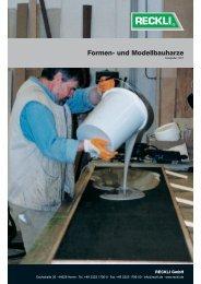 Formen- und Modellbauharze - RECKLI GmbH: Home