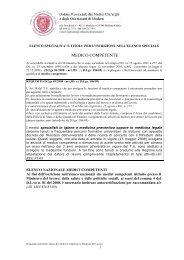 Domanda inserimento elenco speciale medici competenti - Ordine ...
