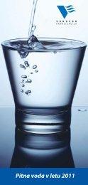 Pitna voda v letu 2011 - Primavoda
