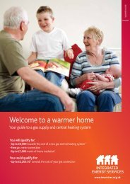Welcome to a warmer home - Our Home Page