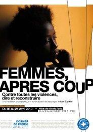 FEMMES, APRES COUP - Médecins du Monde