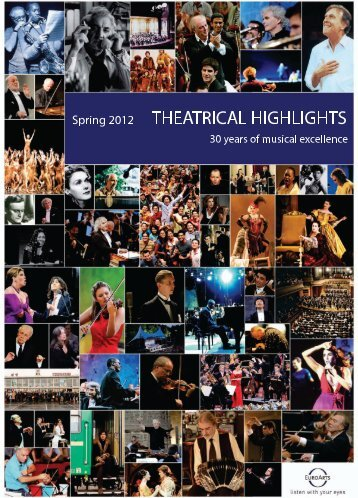 Catalogue Theatrical Highlights - EuroArts