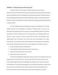 APPENDIX D – Staffing Planning Committee Report 2012