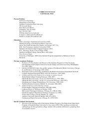 CURRICULUM VITAE Caleb Rosado, Ph.D. Present Position ...