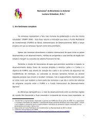 1 Remessas1 de Brasileiros no Exterior Luciano Schweizer, D.Sc.2 ...