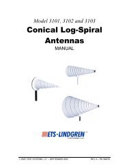 Conical Log-Spiral Antennas